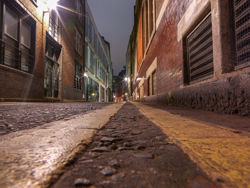 Down Low in Covent Garden | London Art Photography Print