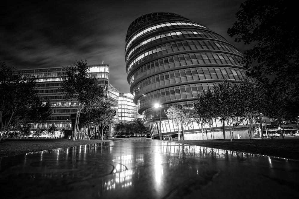 London City Hall | Black and White London Photography