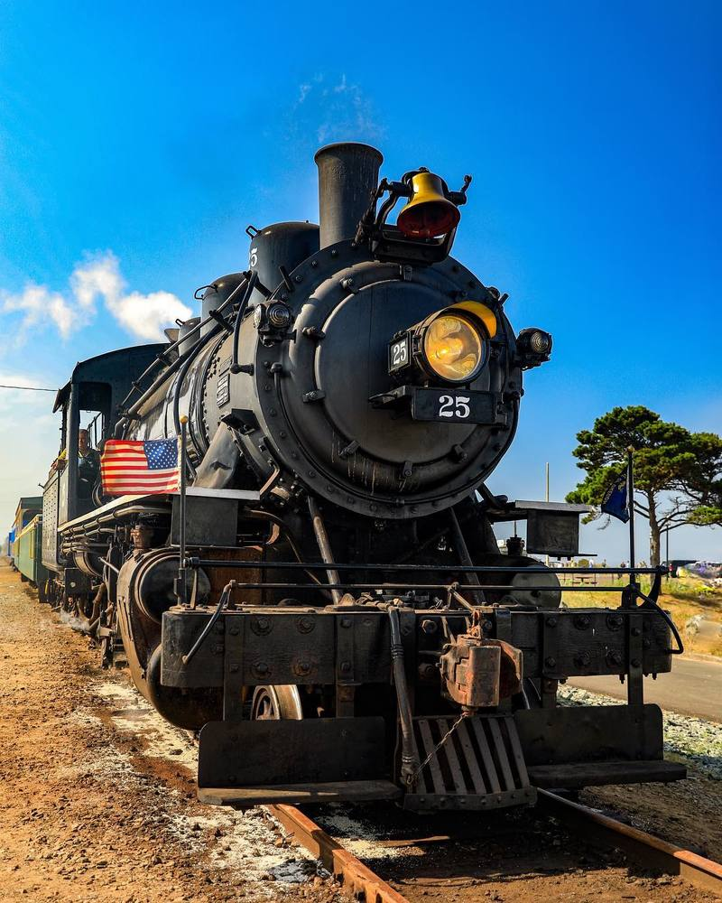 Steam locomotive Photograph Art