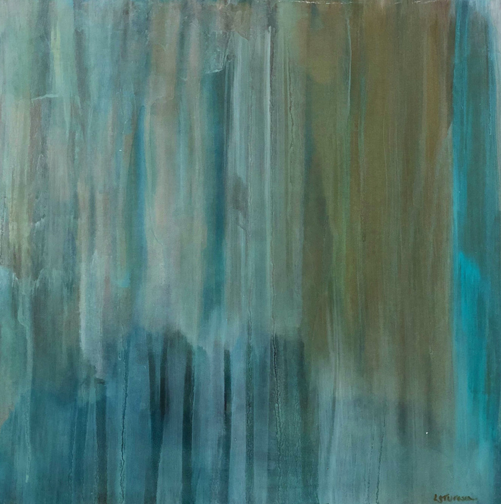 Abstracted: Summer Storm Iii Art   Studio Artistica