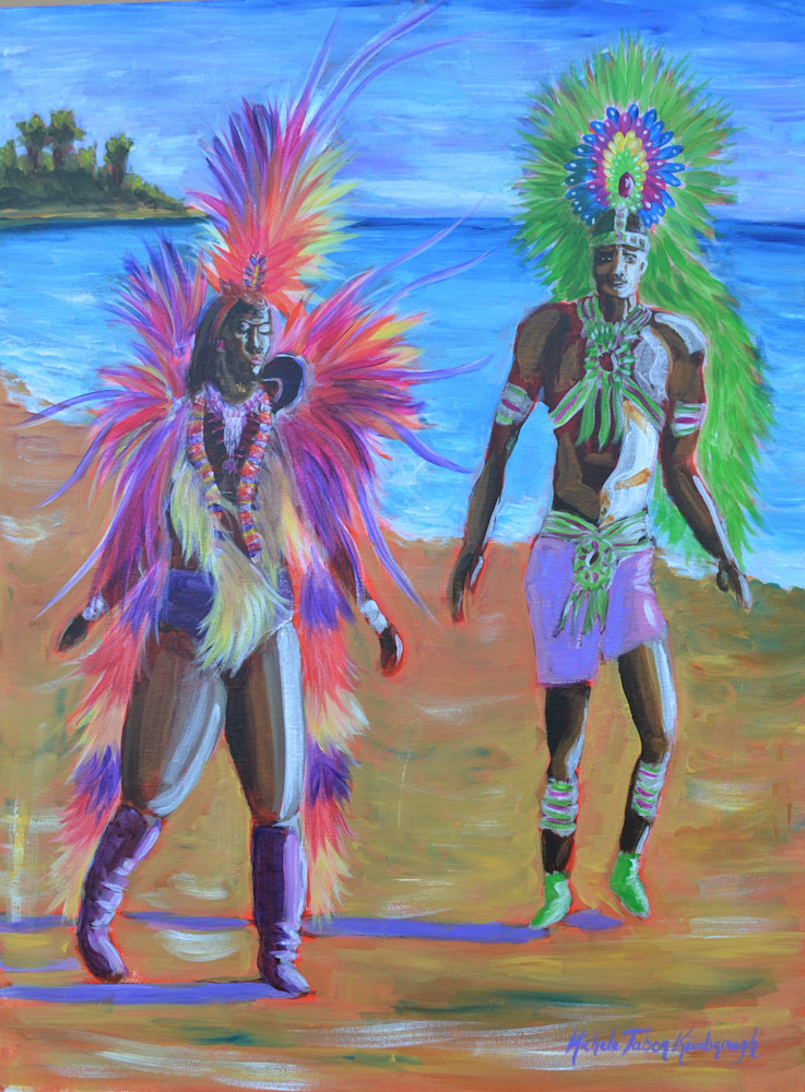 Soulmate   Crucian Carnival Series Art | Michele Tabor Kimbrough