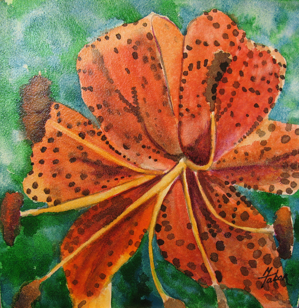 Tiger Lily Art | Michele Tabor Kimbrough