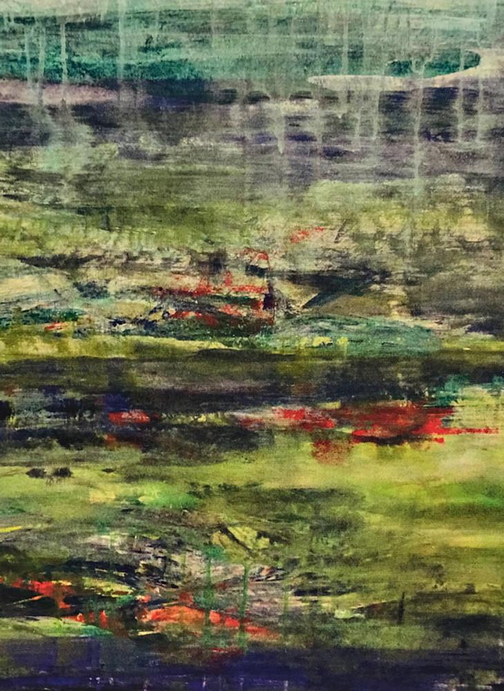 Abstracted:  Indigo I