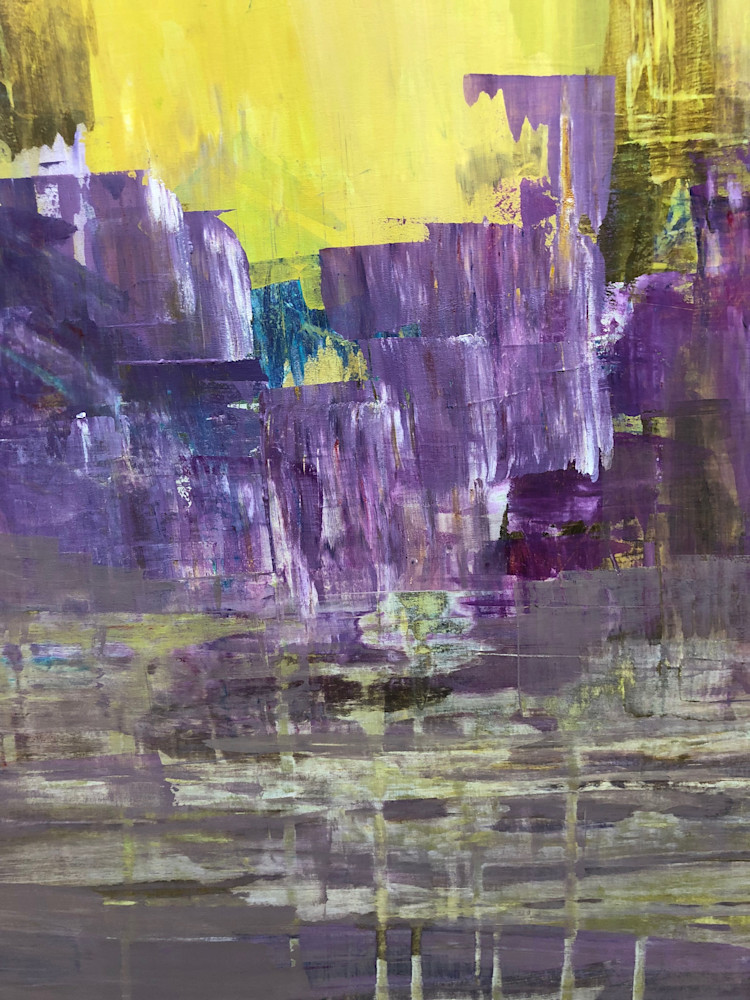 Abstracted: Amethyst