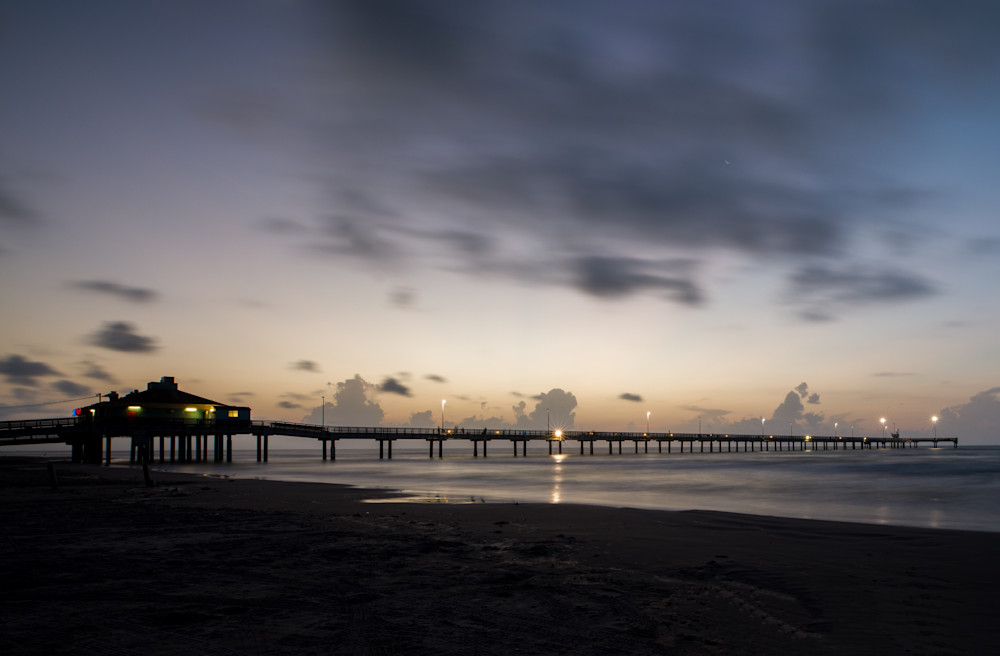 Bob Hall Pier At Sunrise Photographs  Art Prints Photography Art | Photos by Angie B