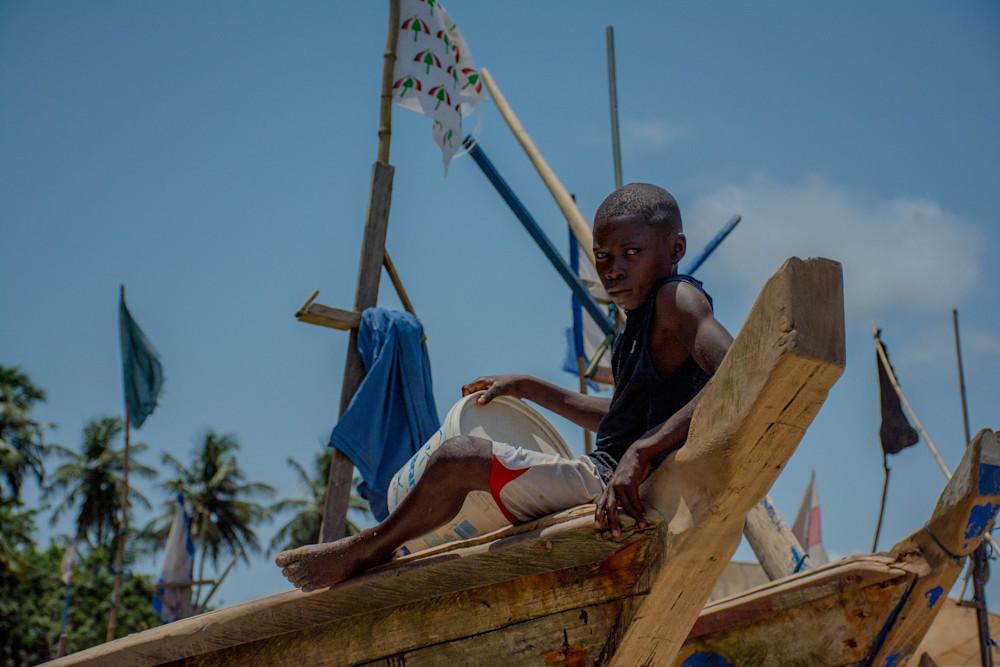 Ghana Fishing Art   Roost Studios, Inc.