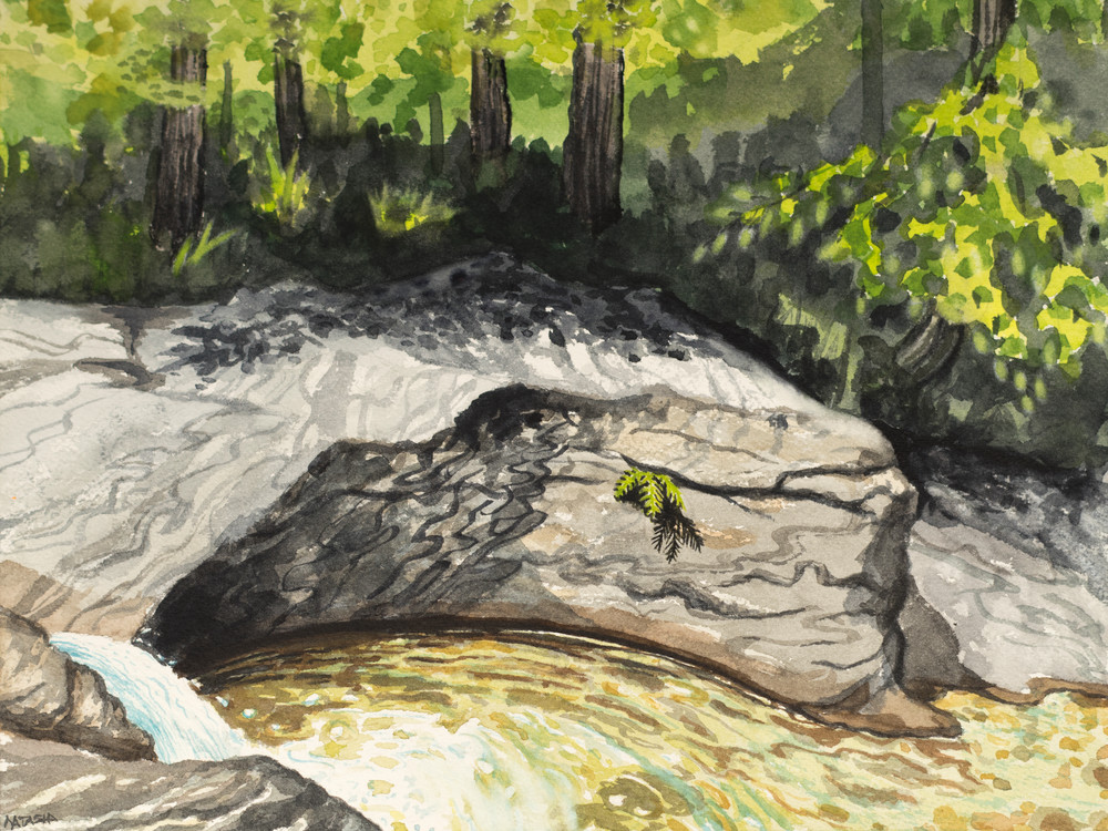 'Joiner Brook Pot Hole' Art for Sale