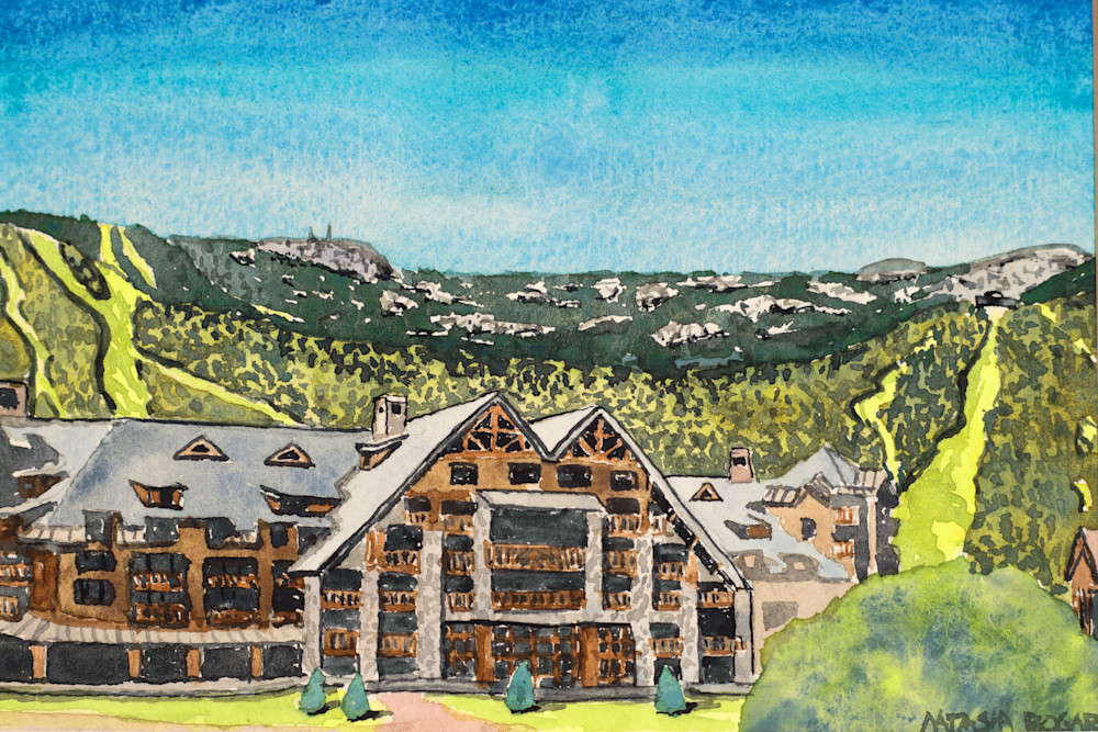 Stowe Mountain Lodge >> Solstice At Stowe Mountain Lodge Art For Sale