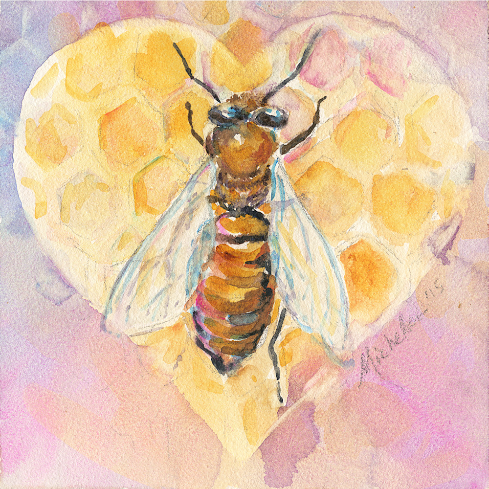 Bee Heart Art | Bright Spirit Studio