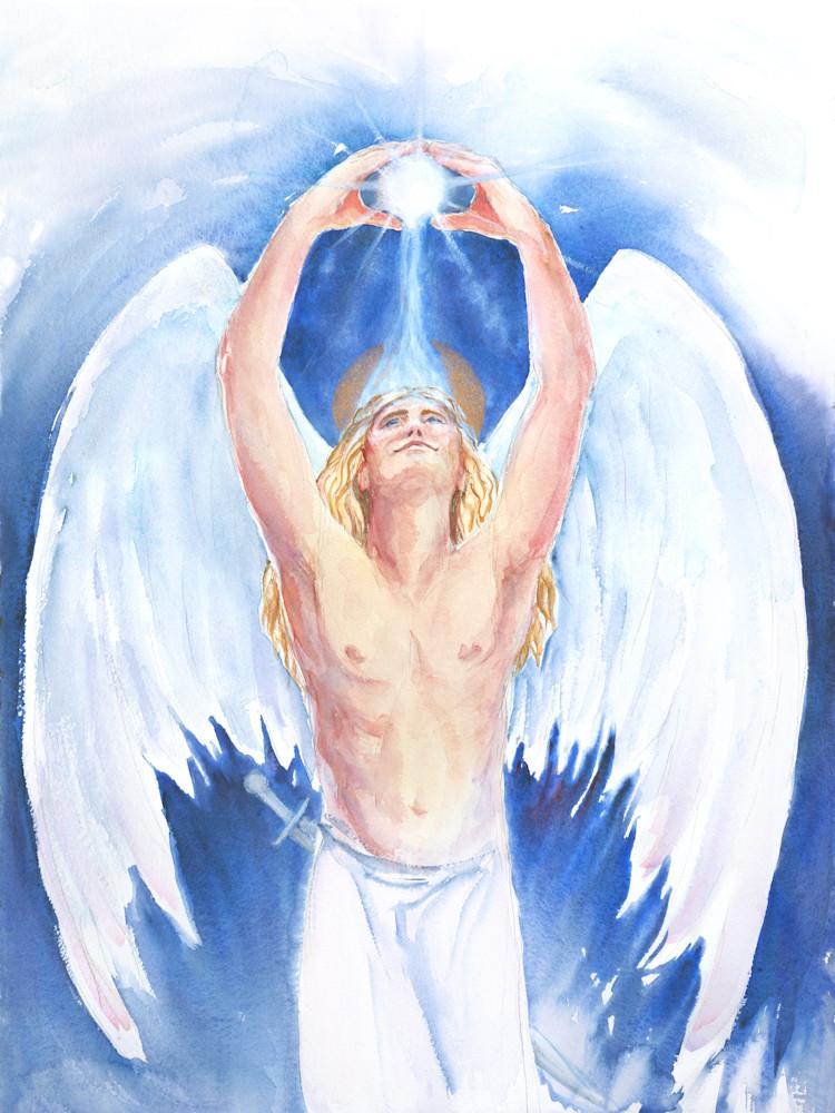 Archangel Michael Art | Bright Spirit Studio