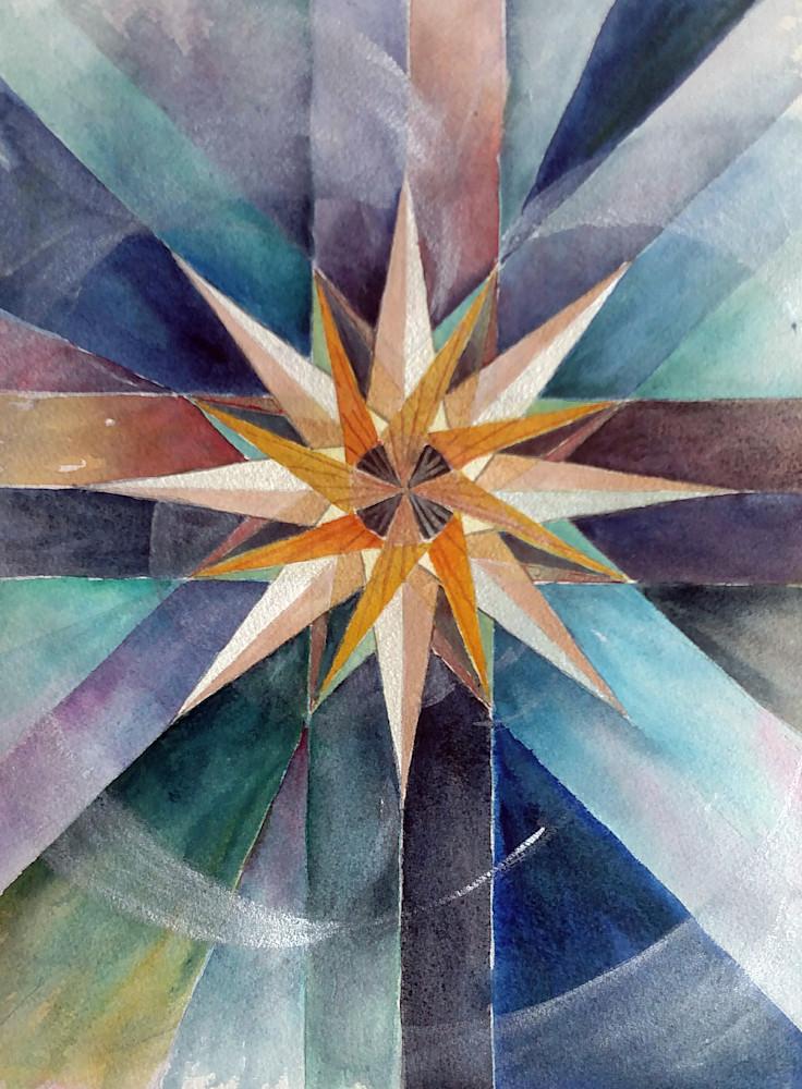 Star Mandala Ii (Christmas Star) Art | Bright Spirit Studio