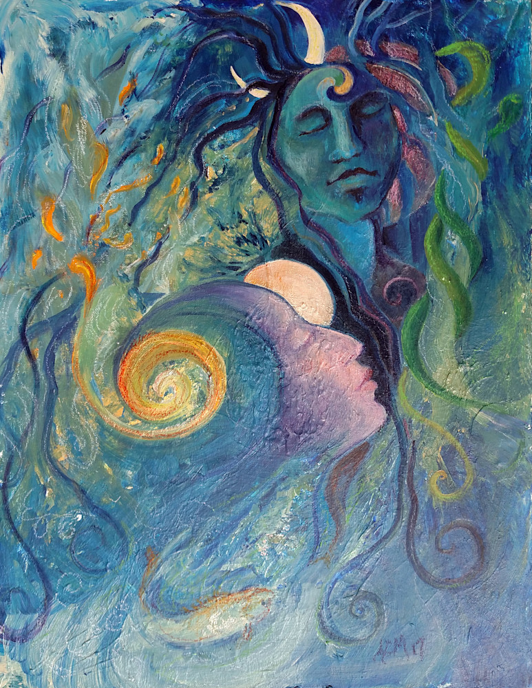 Immaculate Conception Shiva Art Print