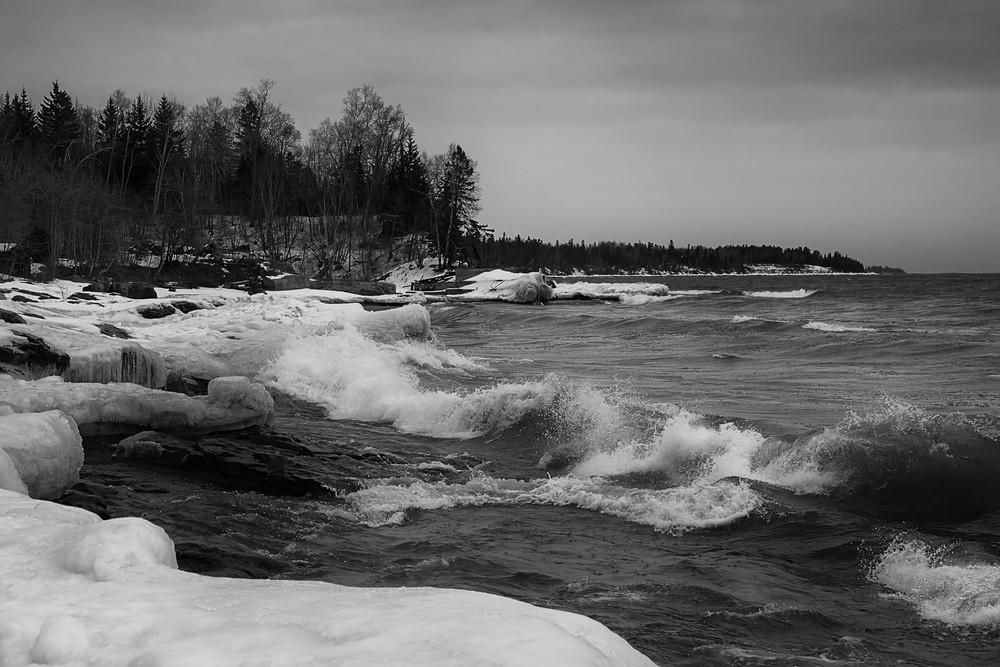 Lake Superior Surf Photography Art | Dale Yakaites Photography