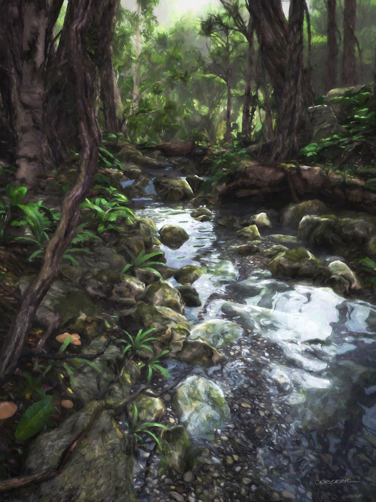 Woodland Stream | Cynthia Decker