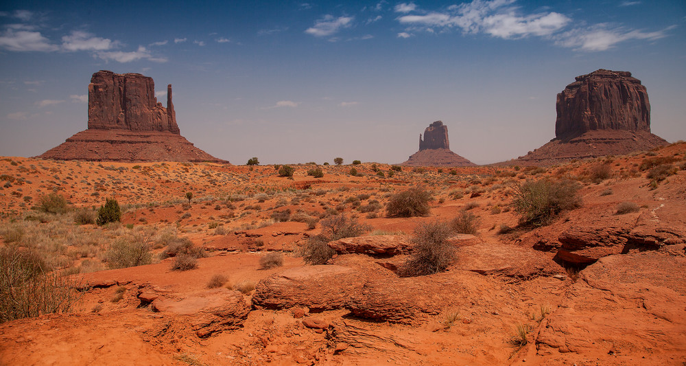 Monument Valley Trio Photography Art | Dale Yakaites Photography