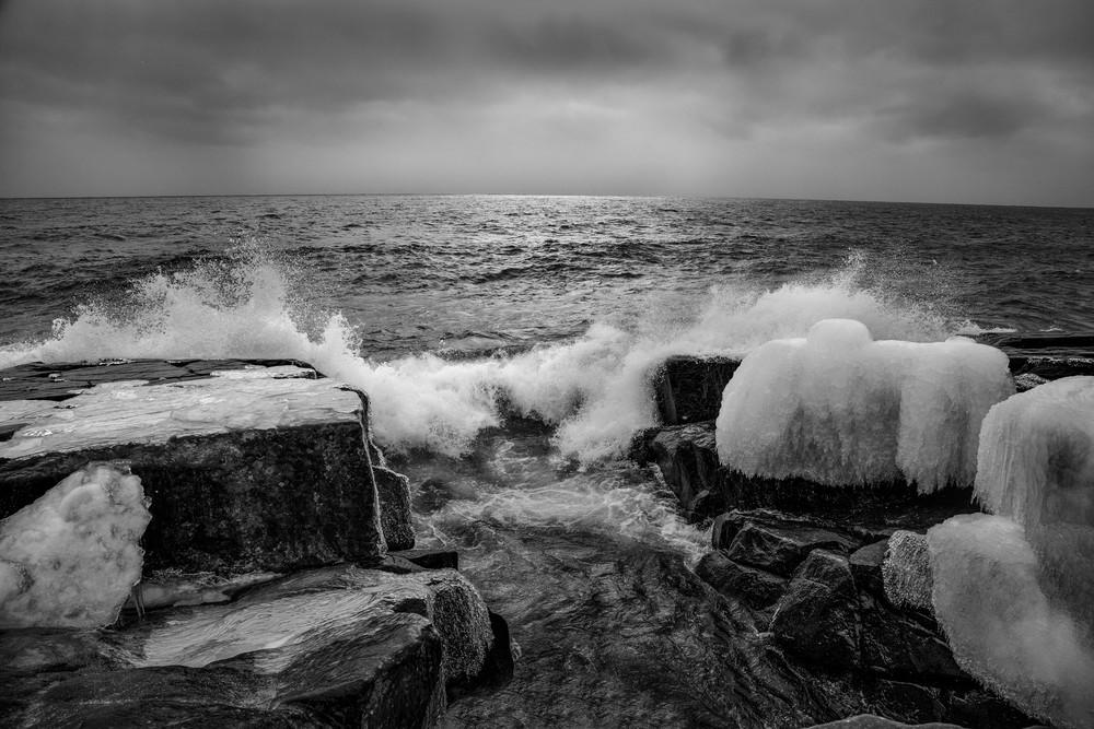 Breezy Lake Superior Photography Art | Dale Yakaites Photography