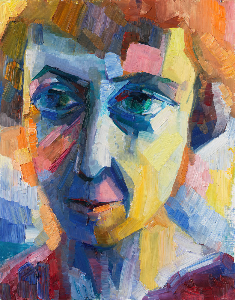 They Call Me Marina (Portrait Of Marina Tsvetaeva) Art | Sonnets in colour