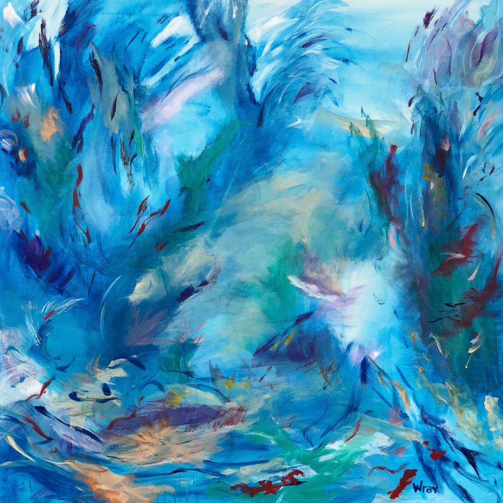 Deep Dive Art | Stephanie Wray Arts