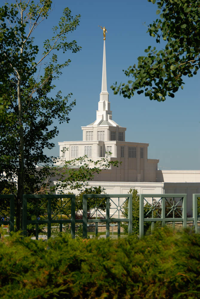 Billings Temple - By Day