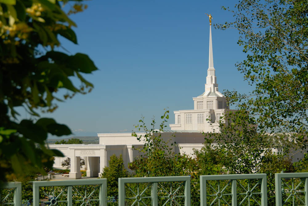 Billings Temple - Fence Foreground