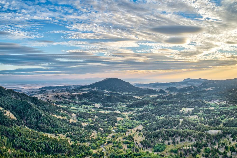 Upper Eagle Creek Valley Photography Art | Craig Edwards Fine Art Images