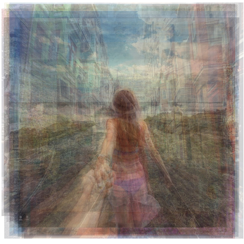 Overlay art – contemporary fine art prints of the Follow Me To project