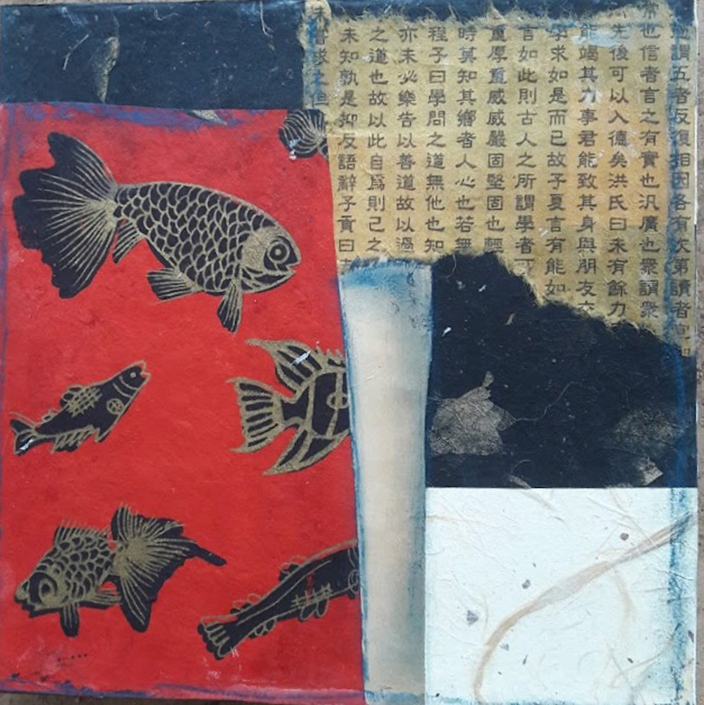 fish, asian-fish, chinese-fish, collage, fish-collage