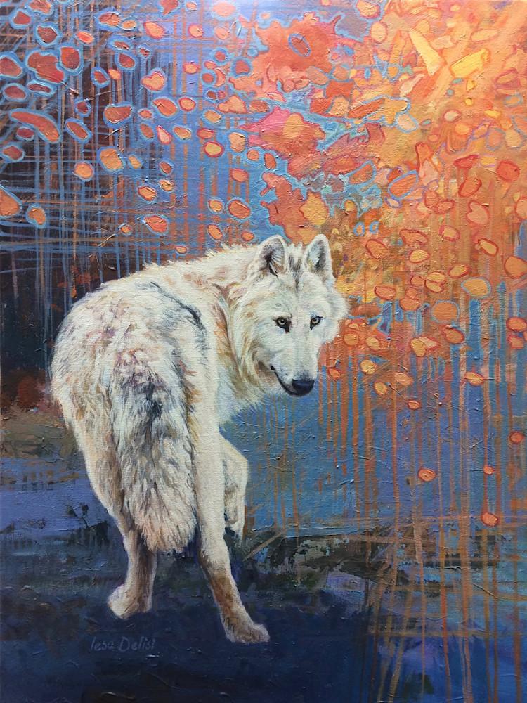 Brianna S Wolf.2 300 Dpi Art | Lesa Delisi, Fine Arts
