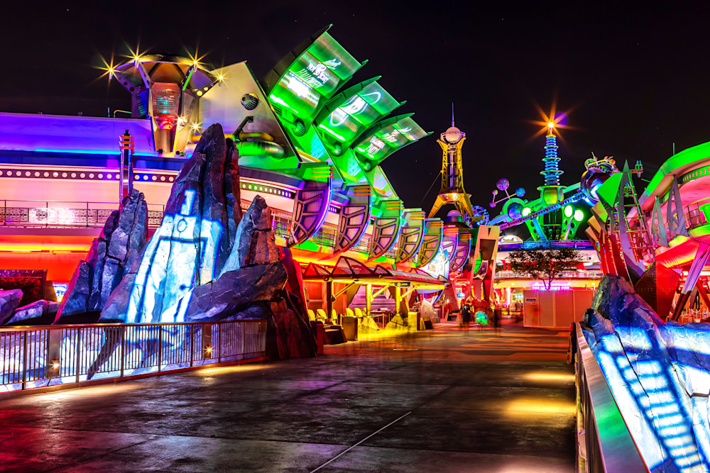 Haunted Tomorrowland - Disney Halloween Photos | William Drew