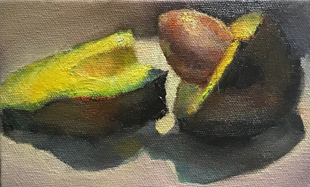 Available Now Only As A Print   Avocado 4 Art | Bkern Fine Art