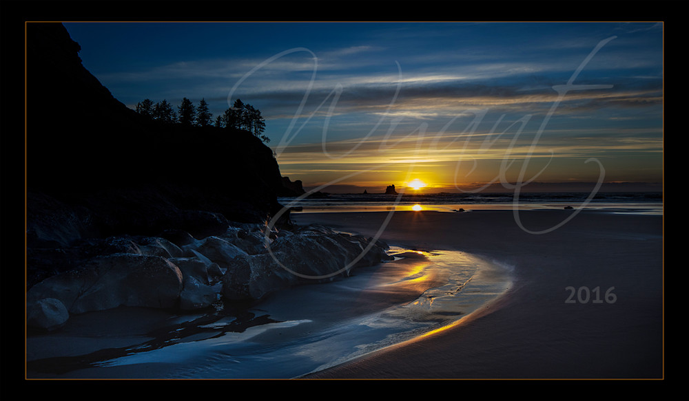 Waves Before Sunset:  Shop Fine Art Photography | Jim Wyant, Master Craftsman (317)663-4798