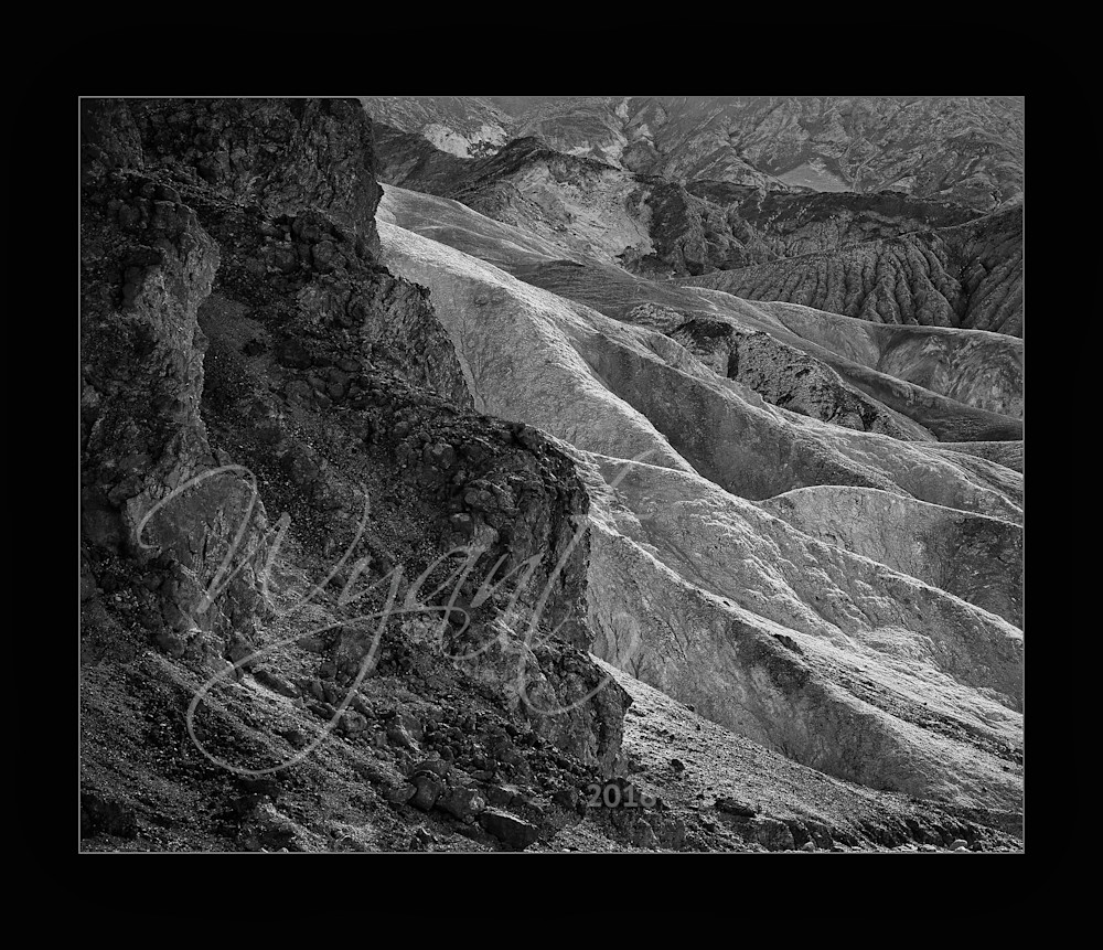 Death Valley Layers in Black and White:  Shop Fine Art Photography | Jim Wyant, Master Craftsman (317)663-4798
