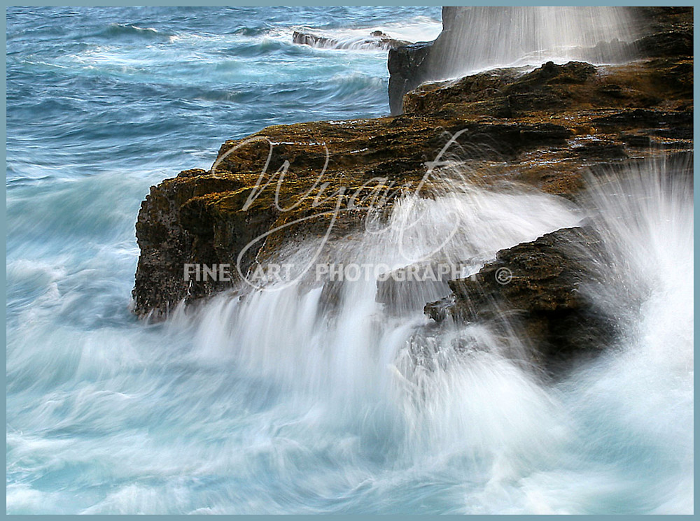 Waves and Rocks:  Shop Fine Art Photography | Jim Wyant, Master Craftsman (317)663-4798