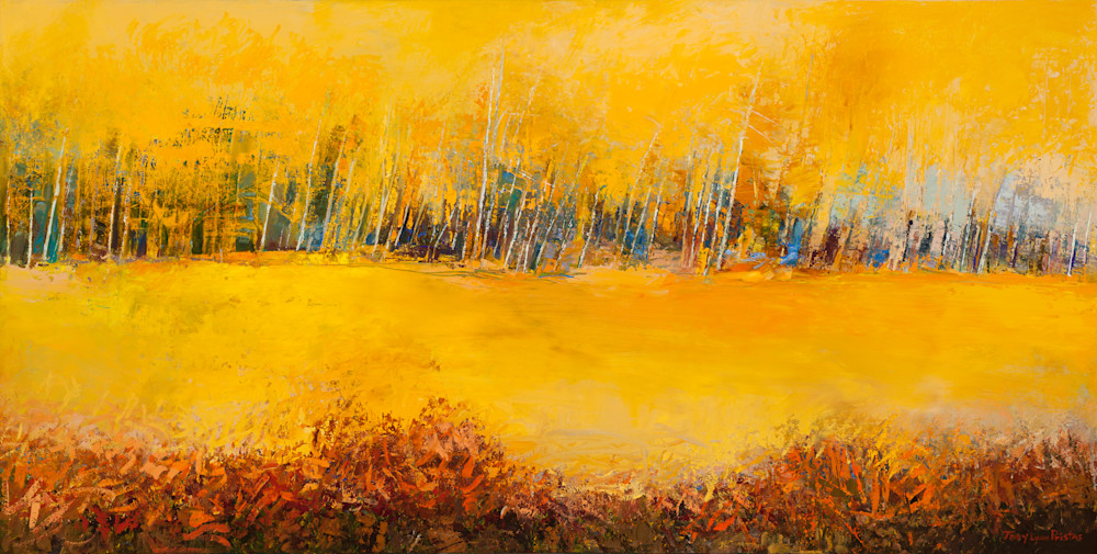 Colorado Aspen Tree Landscape Paintings