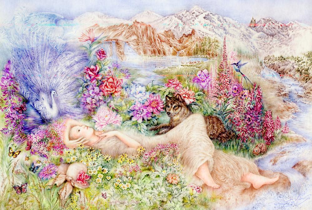Paradise Found Art | Joan Marie Art