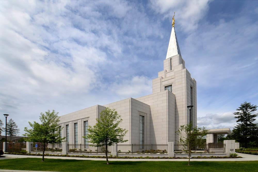 Vancouver Temple - Dusk