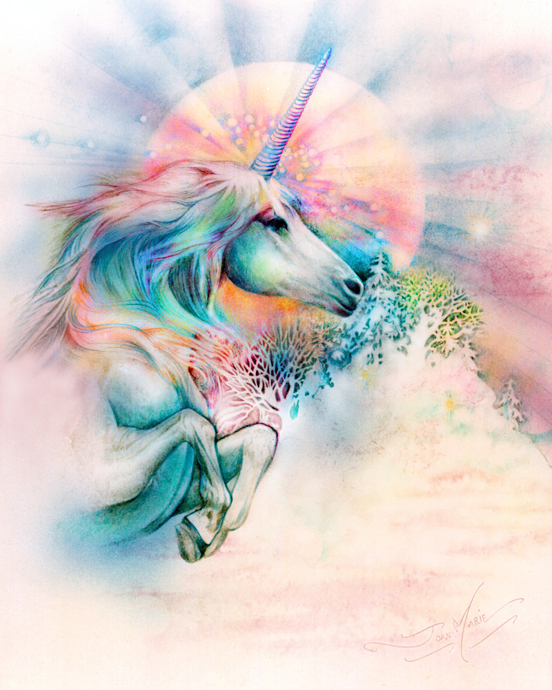 Unicorn Mist Art | Joan Marie Art