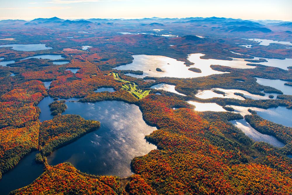 Turtle Pond And Upper Saranac Lake Photography Art | Kurt Gardner Photogarphy