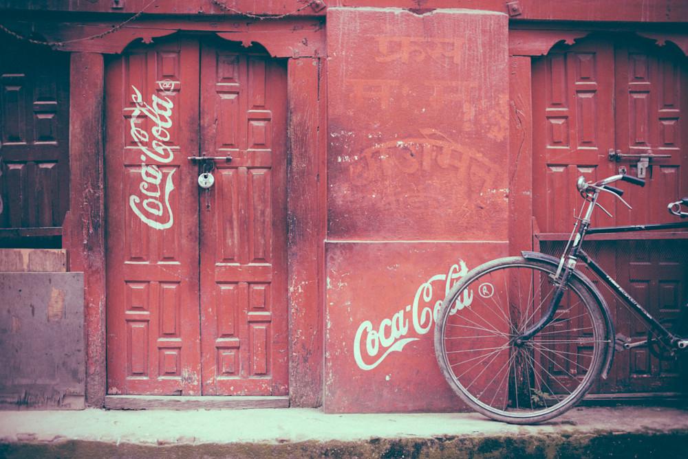 Coca Cola Calling Nepal | Kirby Trapolino Fine Art Photography