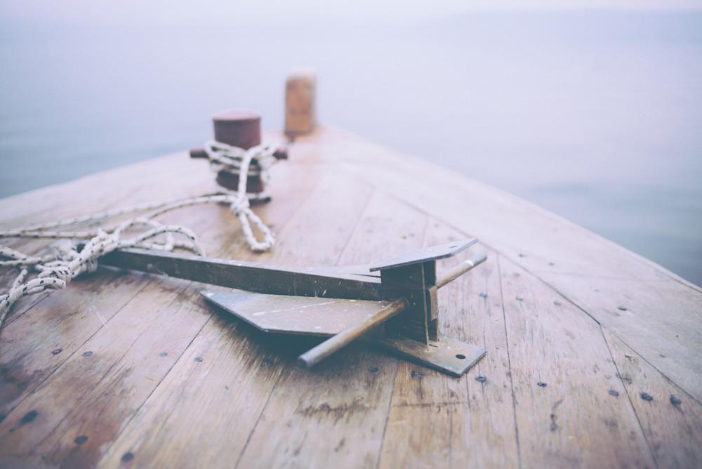 Anchor Me Through the Fog| Kirby Trapolino Fine Art Photography