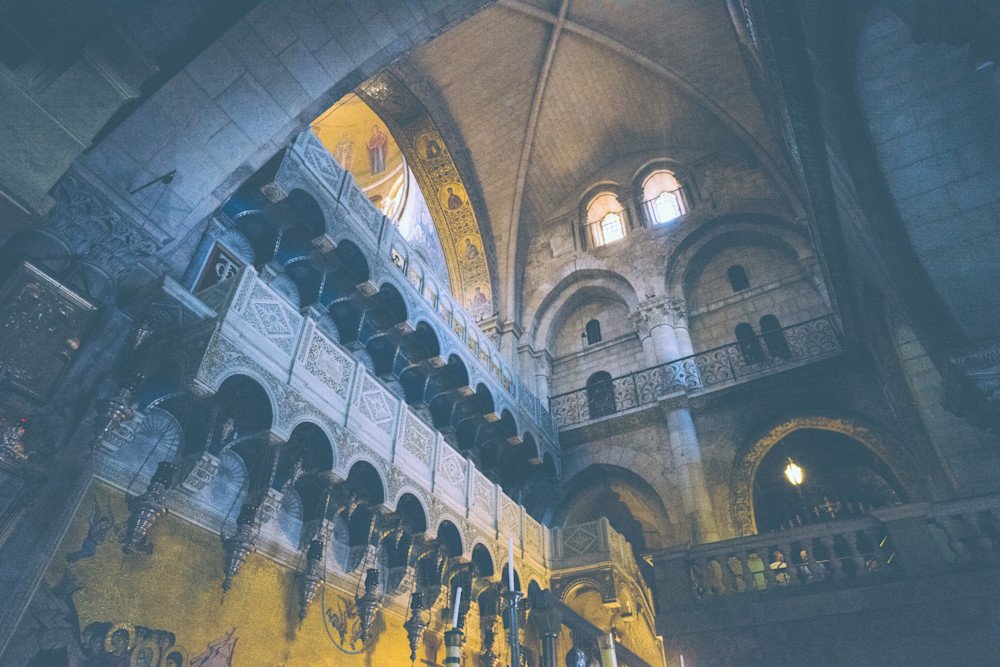 Holy Sepulchre Dawning | Kirby Trapolino Fine Art Photography