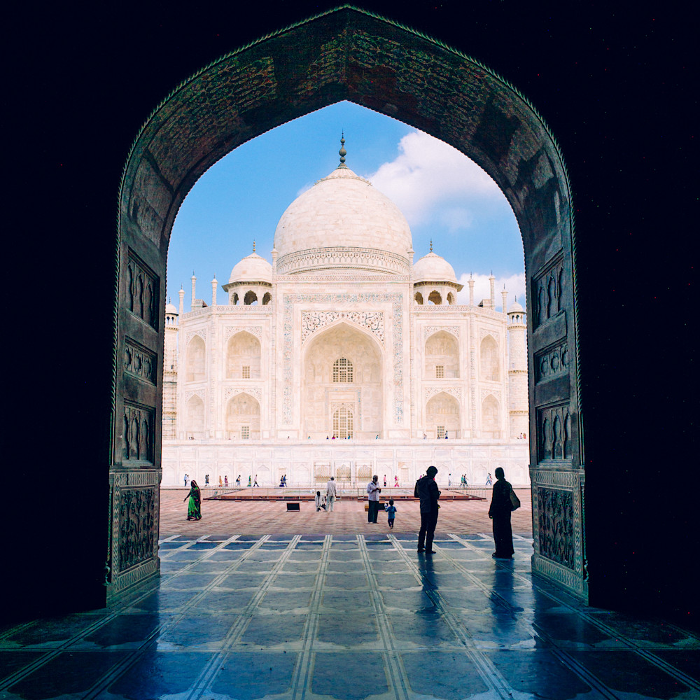 Taj Mahal Passage | Kirby Trapolino Fine Art Photography