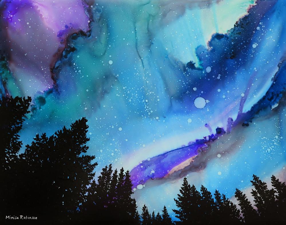 Heavenly Vision  Print Art   Minisa Pyrography