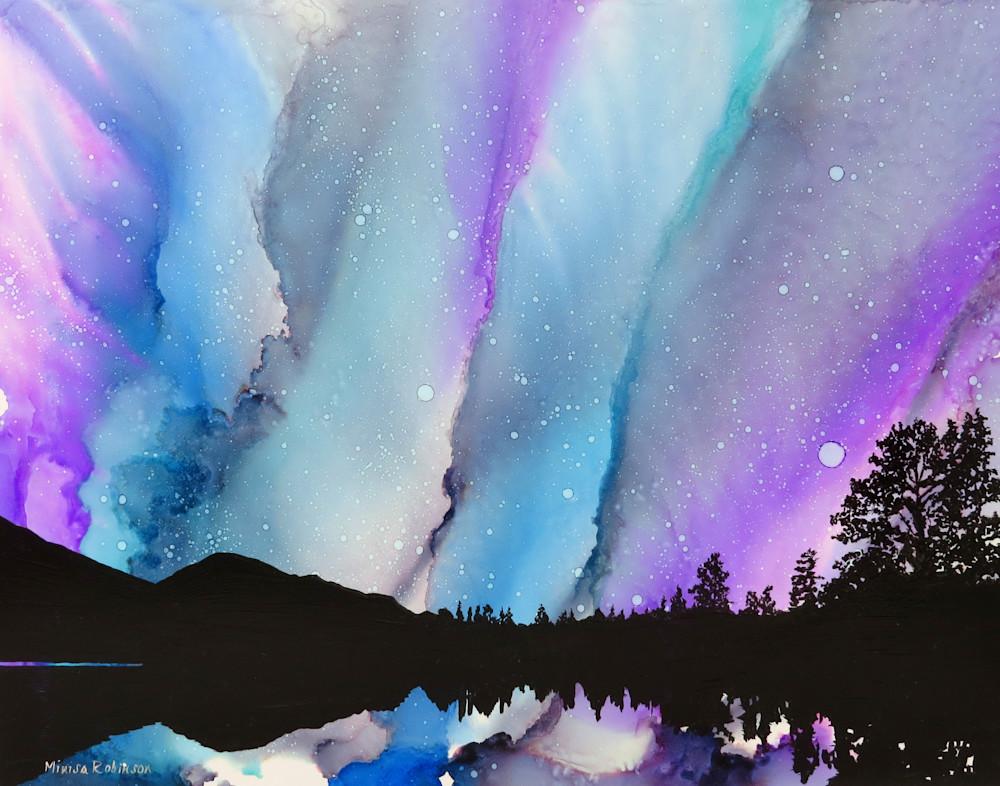 Evening Reflection  Print Art | Minisa Pyrography