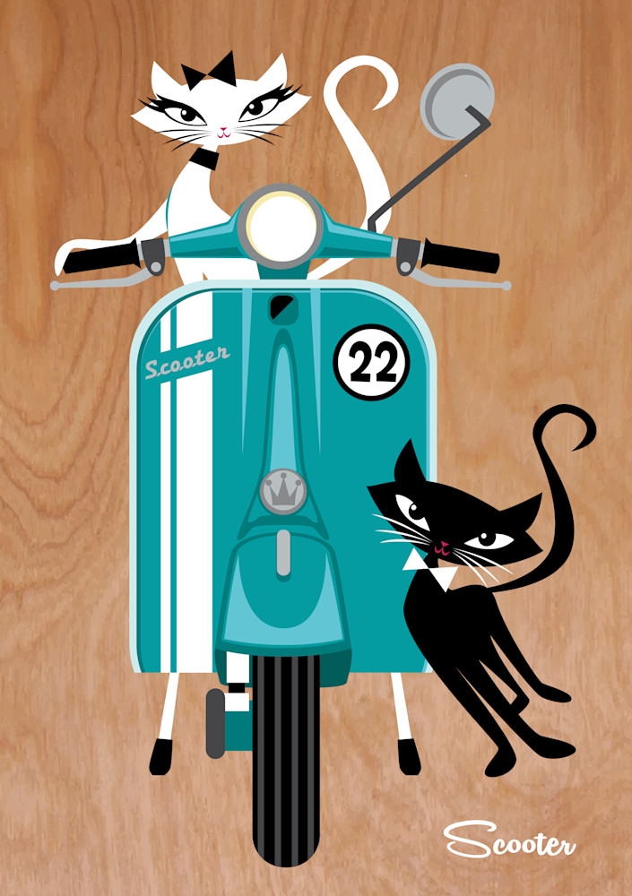 Scooter-a-Go-Go Cats