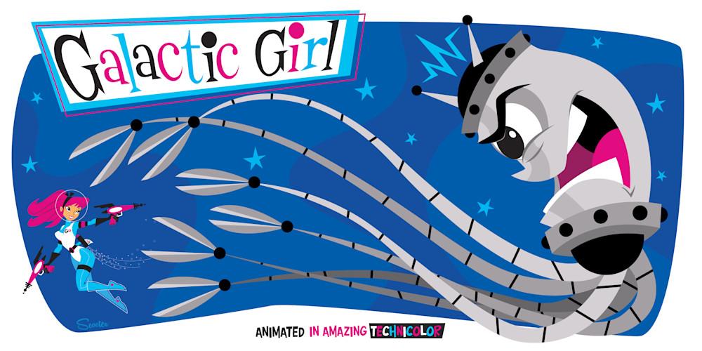 Galactic Girl vs Squidbot