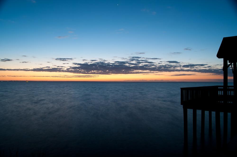Arlington Park Pier Sunrise Over Mobile Bay 2