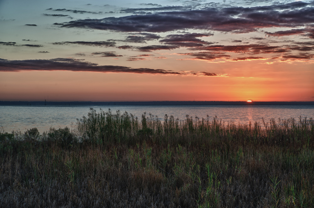 Mobile Bay Sunrise from Arlington Park
