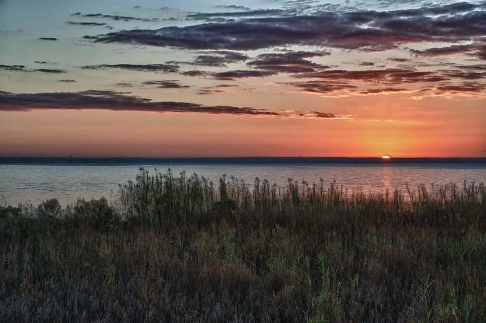 Mobile Bay Sunrise from Arlington Park