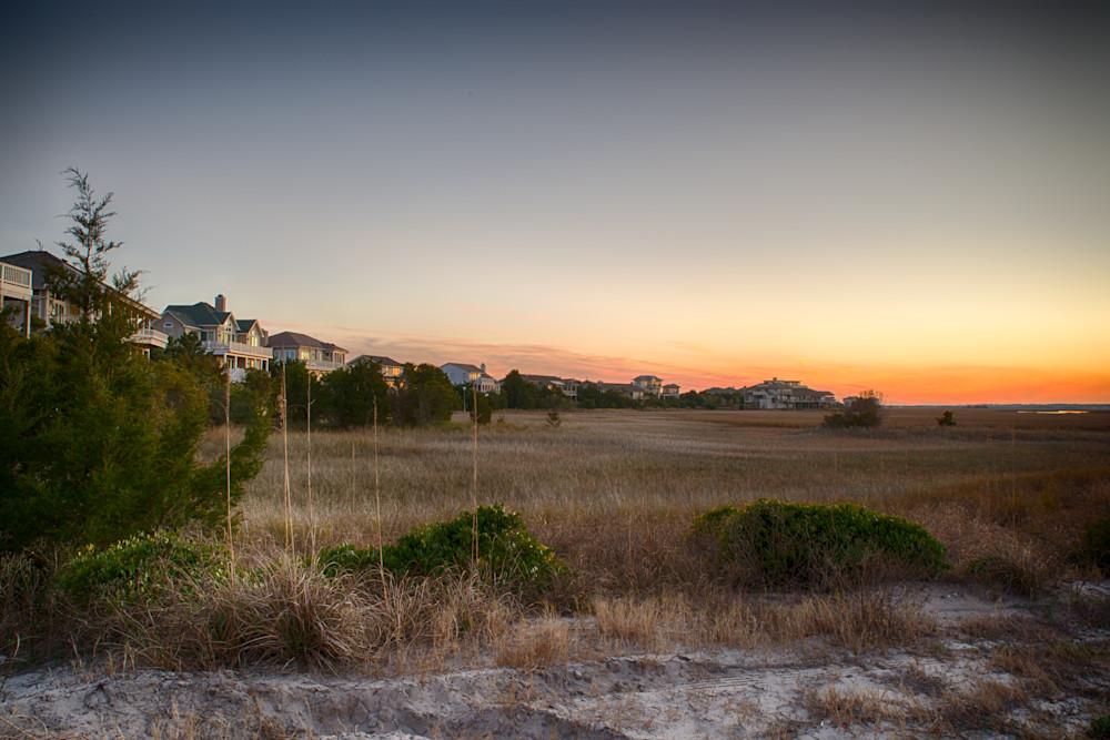 Figure 8 Island Marsh Sunset